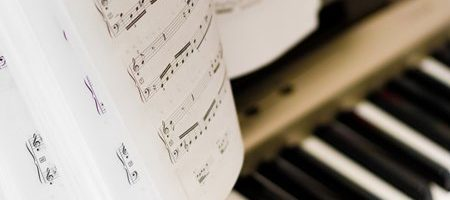 Musical notes on composer